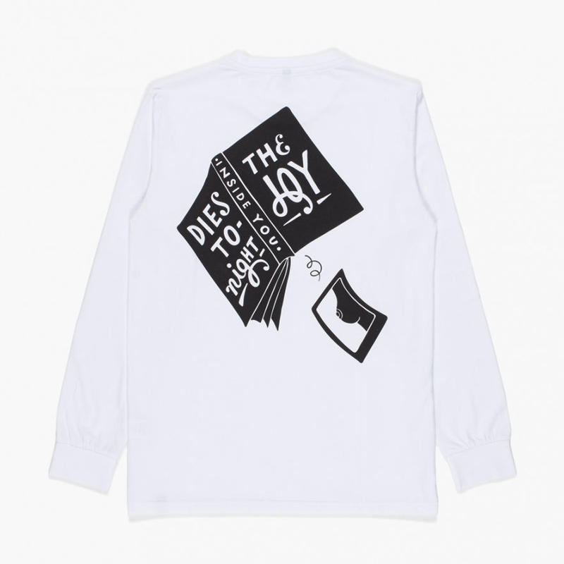 by Parra / LONG SLEEVE T-SHIRT - THE JOY INSIDE