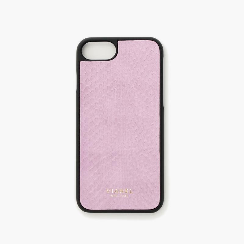 VIANEL NEW YORK - iPhone 8/7 Case - Snakeskin Lavender