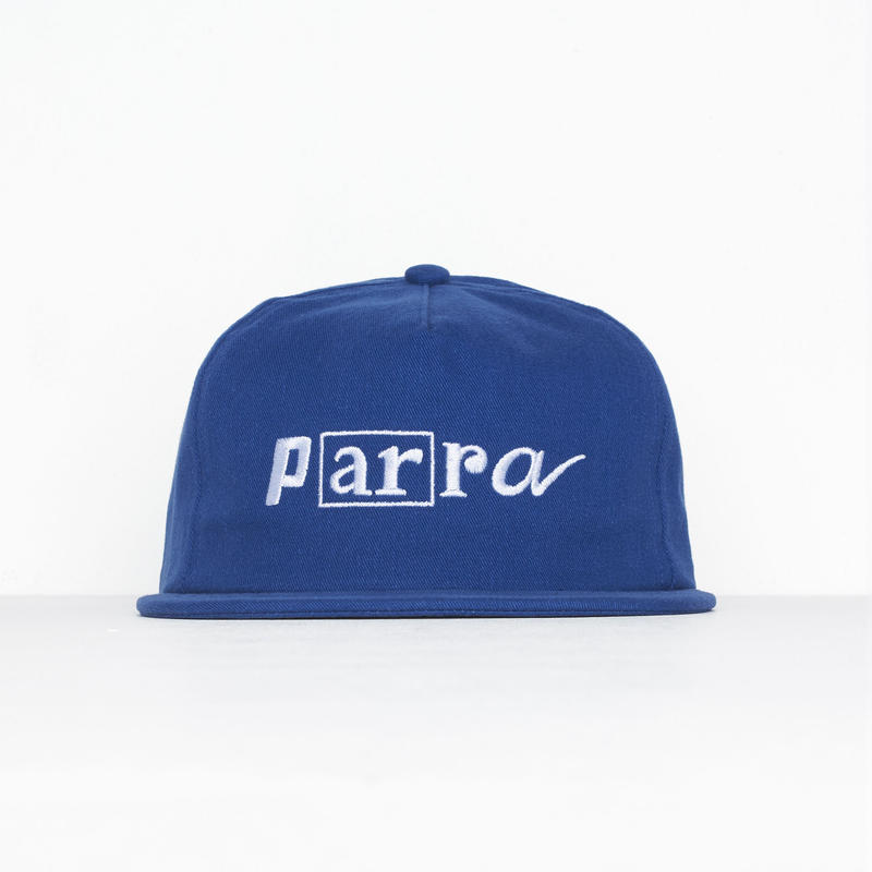 3fb2be9c1e6 by Parra   5PANEL HAT SCRIPT LOGO BOX