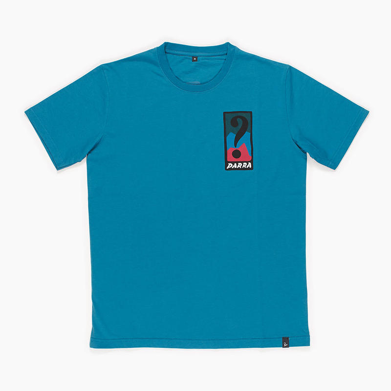 by Parra / t-shirt indy tuck knee - slate blue