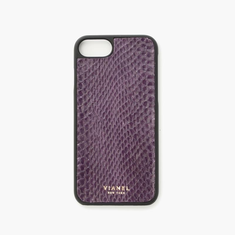 VIANEL NEW YORK - iPhone 8/7 Case - Snakeskin Grape