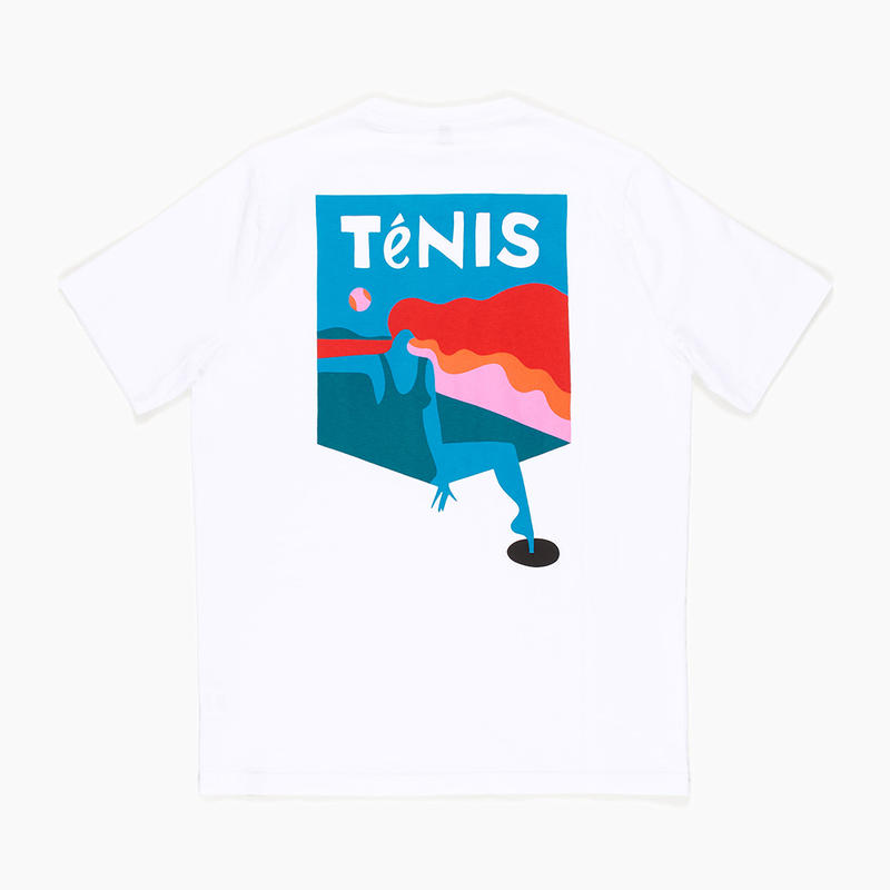 by Parra / t-shirt ténis