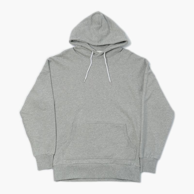 I LOVE UGLY / WALLACE HOOD - VINTAGE GREY