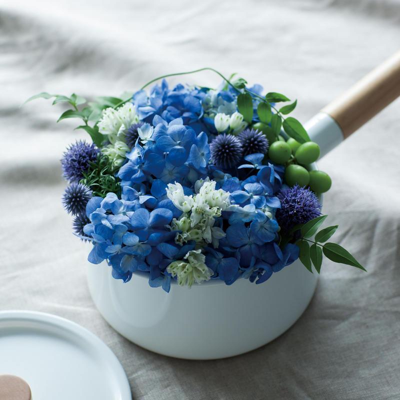 Kaico片手鍋(2.2L)+Flower