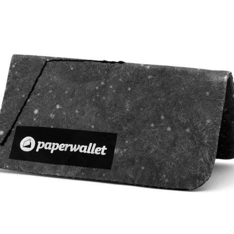 Paperwallet Night Black Coin