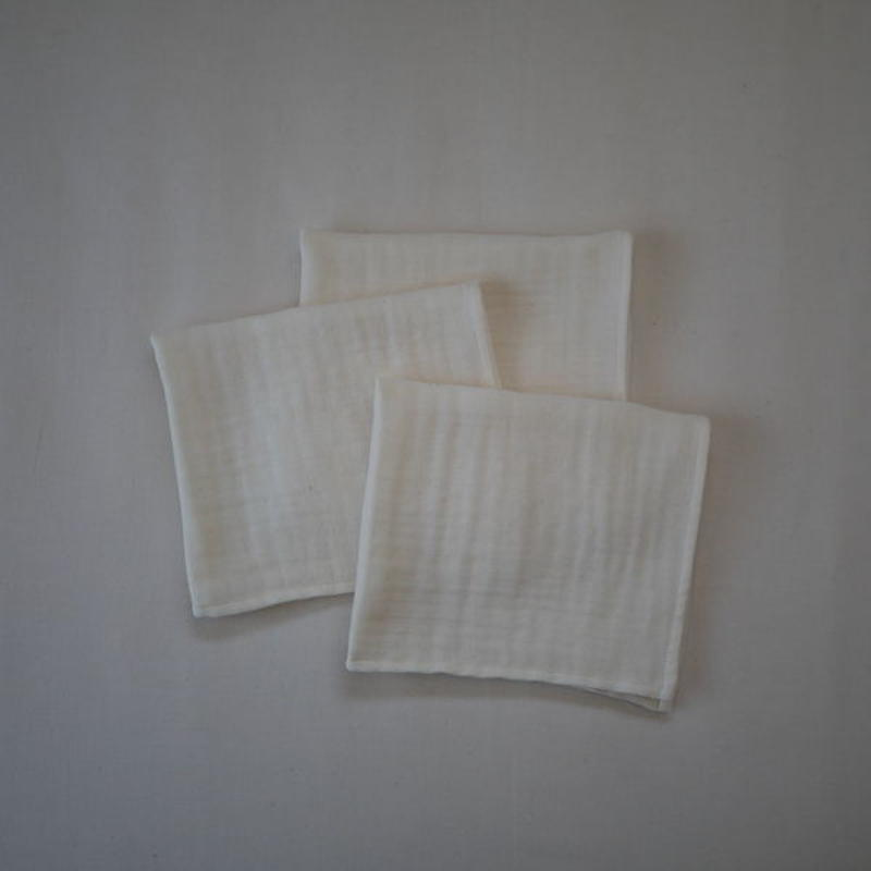 atelier Une place / OGANIC COTTON GAUZE TOWEL -MINI TOWEL-
