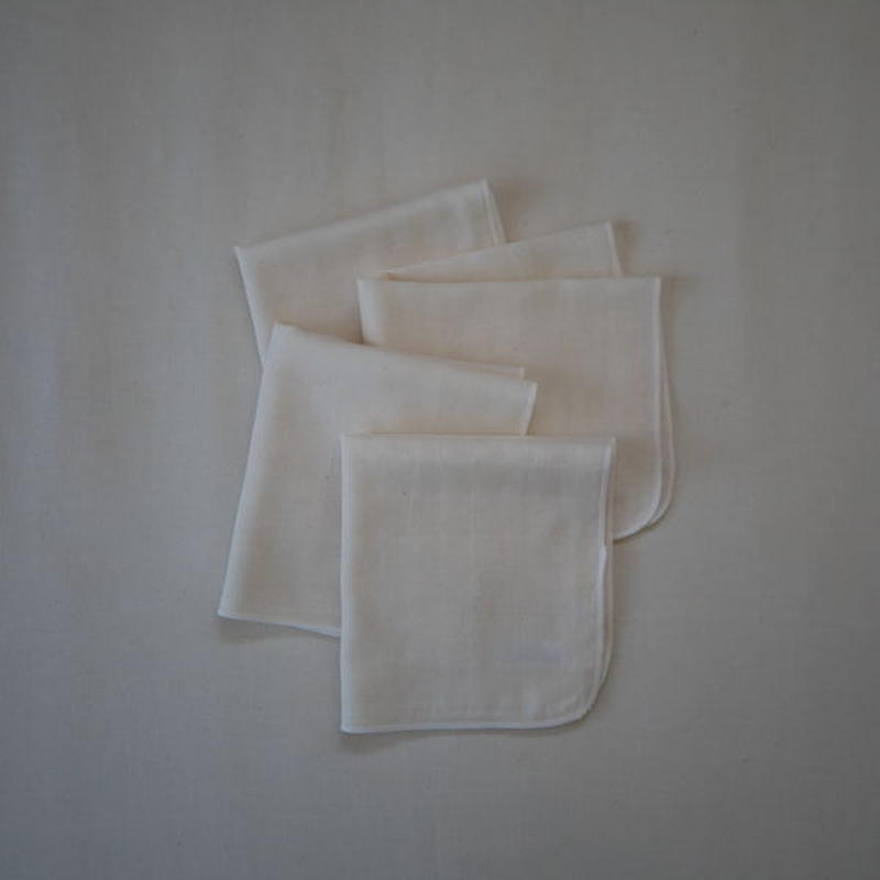 atelier Une place / OGANIC COTTON W GAUZE CHIEF M