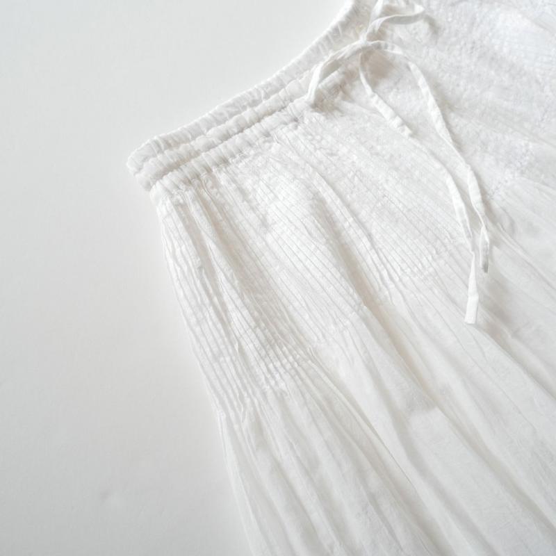 未使用 / maison de soil コットンギャザースカート