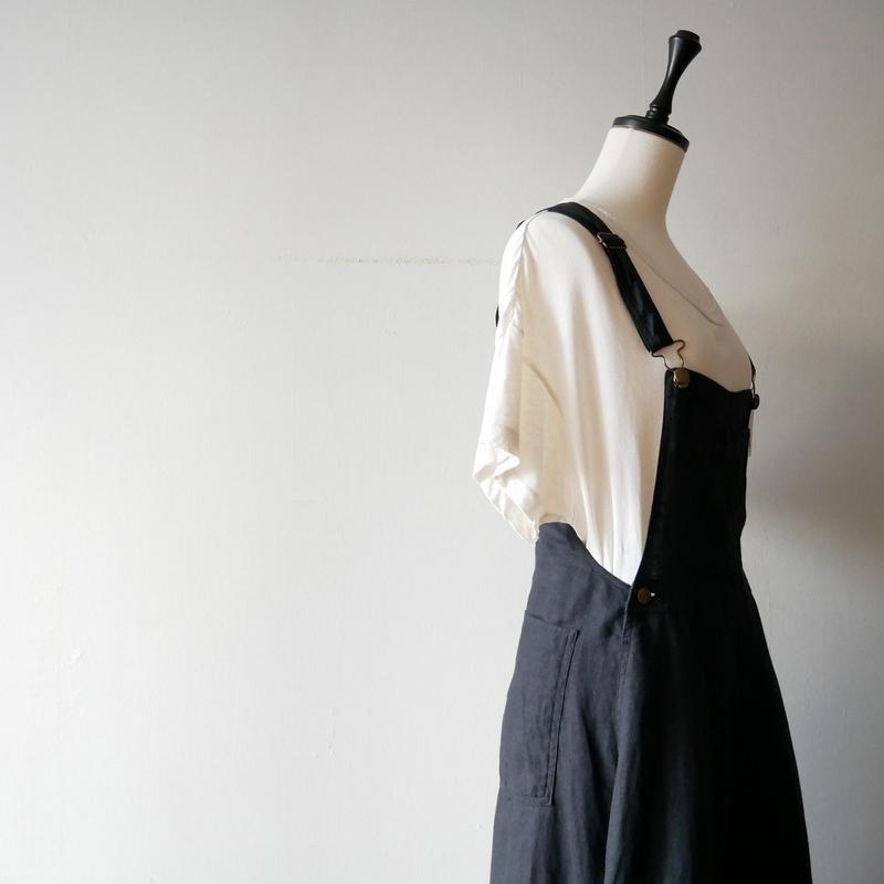 2018SS / SPICK&SPAN 購入品 MITTERNACHT マキシジャンパースカート