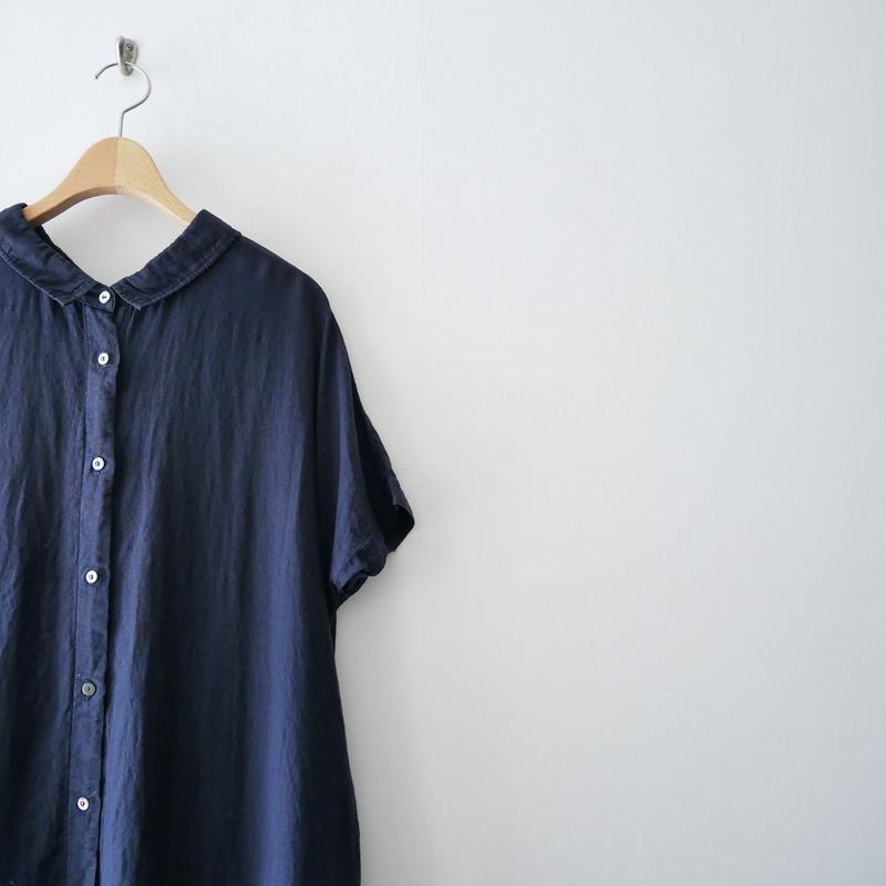 2018SS / nest robe リネン 2way シャツワンピース