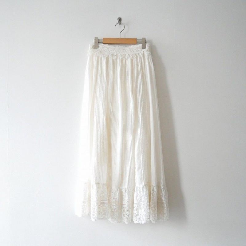 2018 / Whim Gazette購入品 JEAN_NERET レーススカート