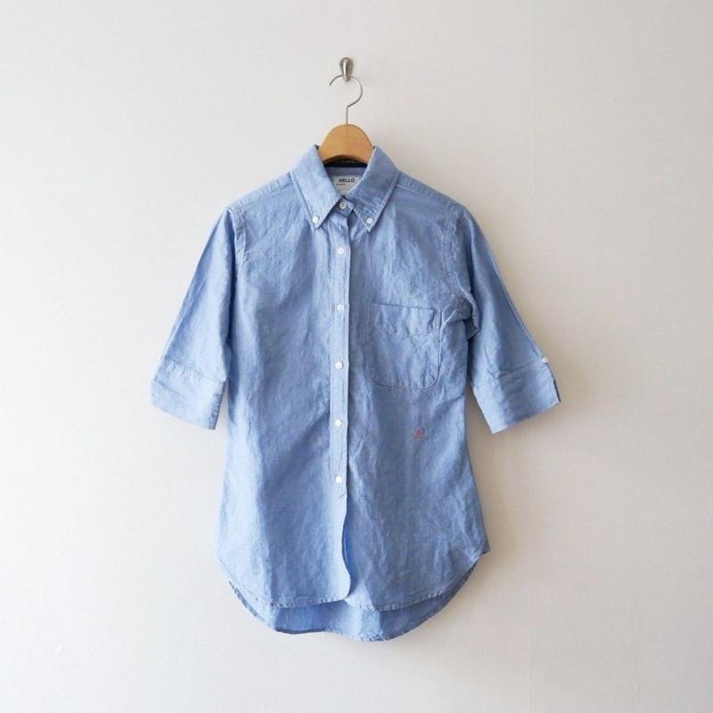 2018SS / MADISON BLUE シャンブレー B.D. シャツ