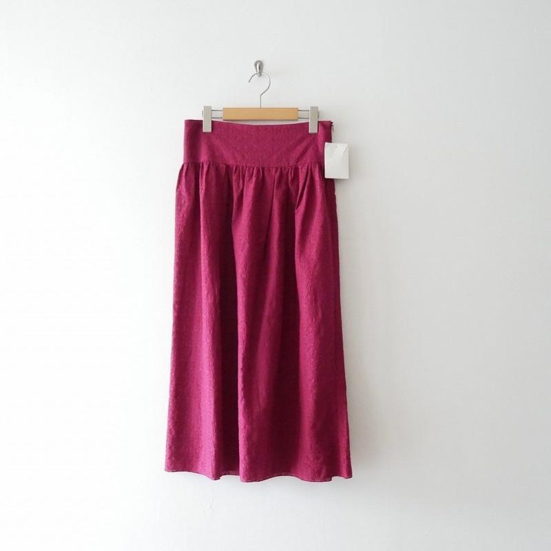 未使用 / IENA フラワーレーススカート