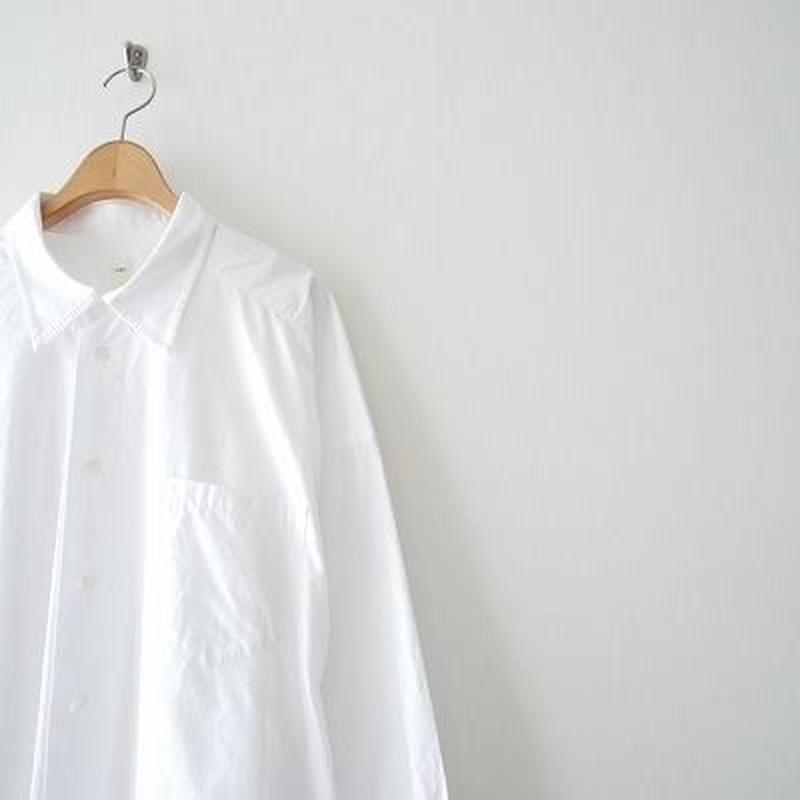 2019SS今季 / SEA ブロードマスキュリンオーバーサイズシャツ