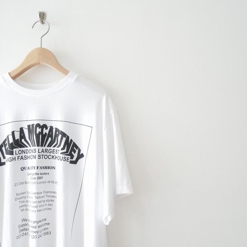2018SS / STELLA McCARTNEY プリントTシャツ