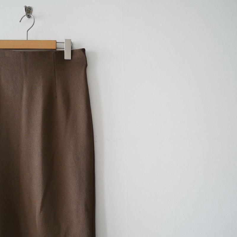 2019SS今季未使用 / FRAMeWORK スムースタイトスカート C/NY