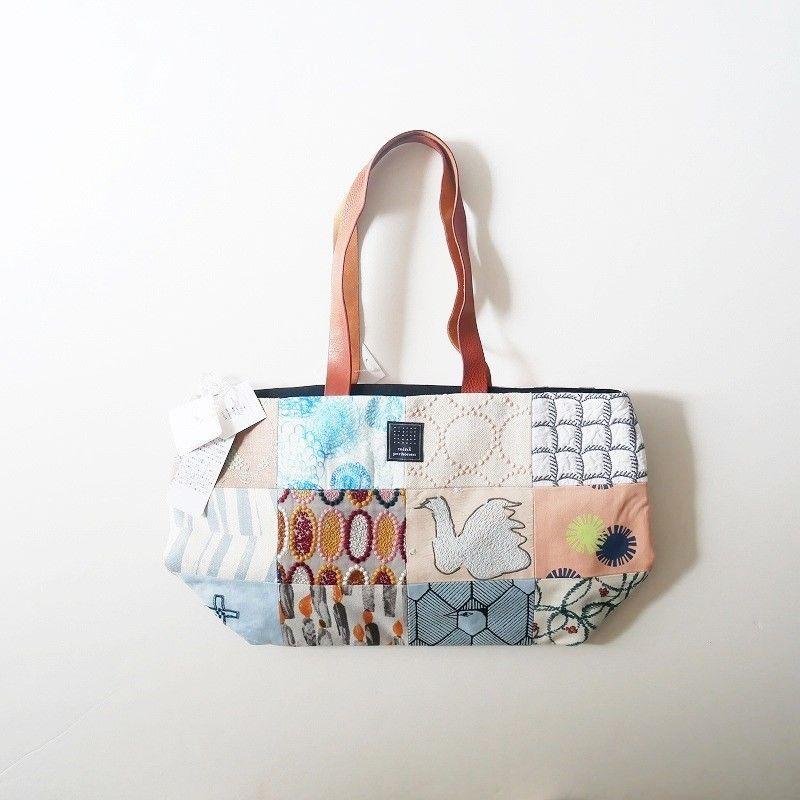 mina perhonen piece bag パッチワークトート