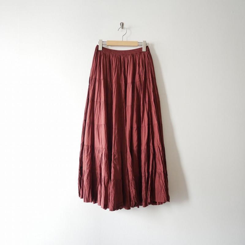 2018SS / SPICK&SPAN ギャザーマキシスカート
