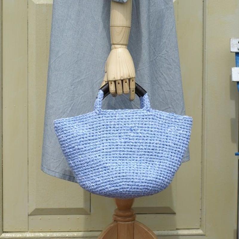 裂き編みバッグ(マルシェバッグ)