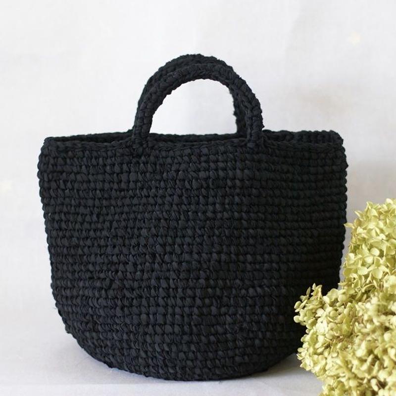 A様オーダー品 裂き編みバッグ(MLサイズ)