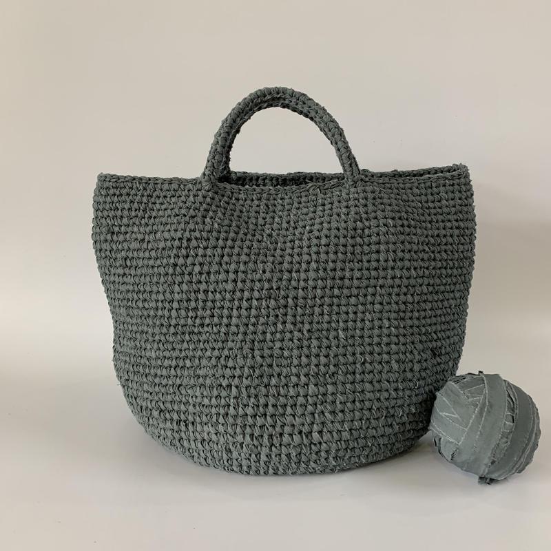 裂き編みバッグ マルシェバッグ 3Lサイズ