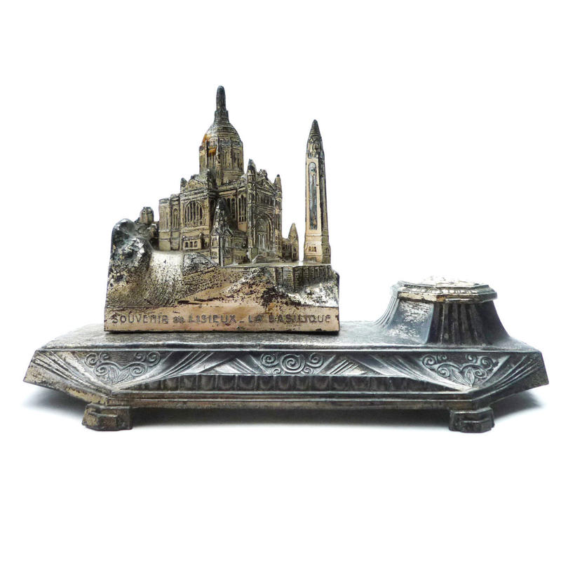 "France "" Lisieux - La Basilique 聖堂 "" のインクホルダー"