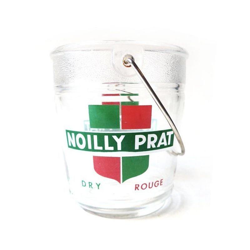 "France ガラスの氷入れ  "" Noilly Prat """