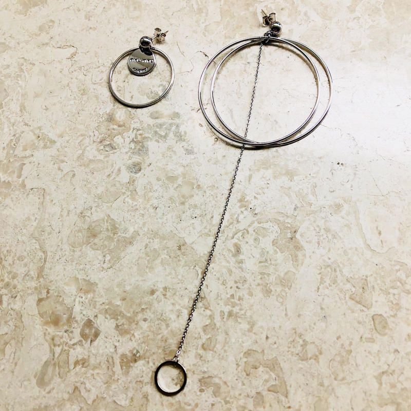 asymmetry pierce(silver)