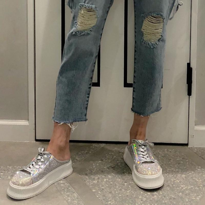 gritter high sole slip-on