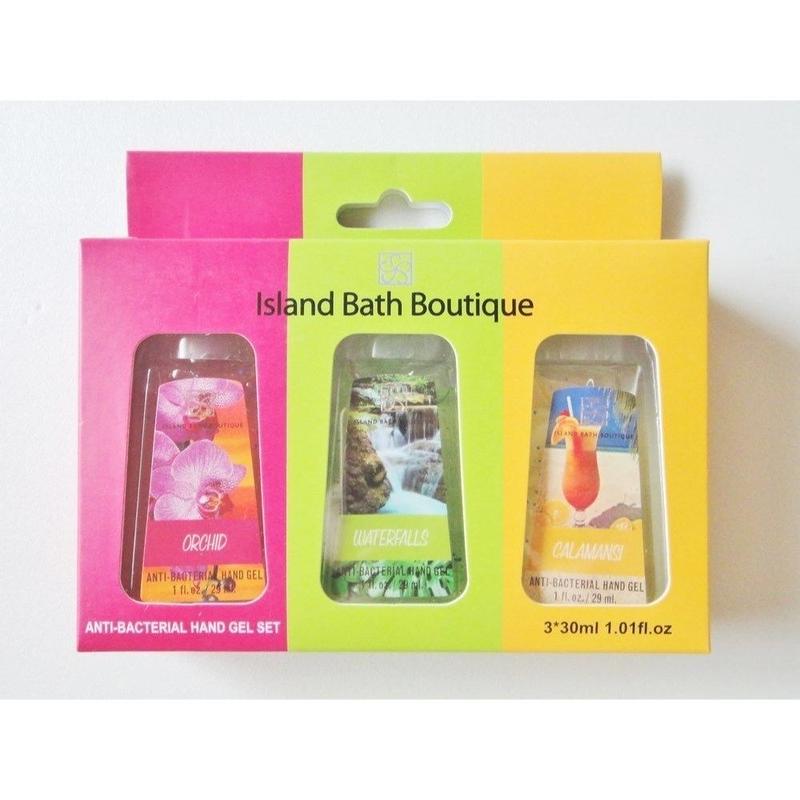 ハワイ☆Island Bath Boutique アイランド バス ブティック ハンドサニタイザー 消毒ジェル 3本セット 30mL