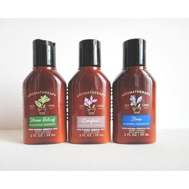 アロマの香り Bath & Body Works バス&ボディワークス ボディローション  ミニサイズ 59mL 3種類あり