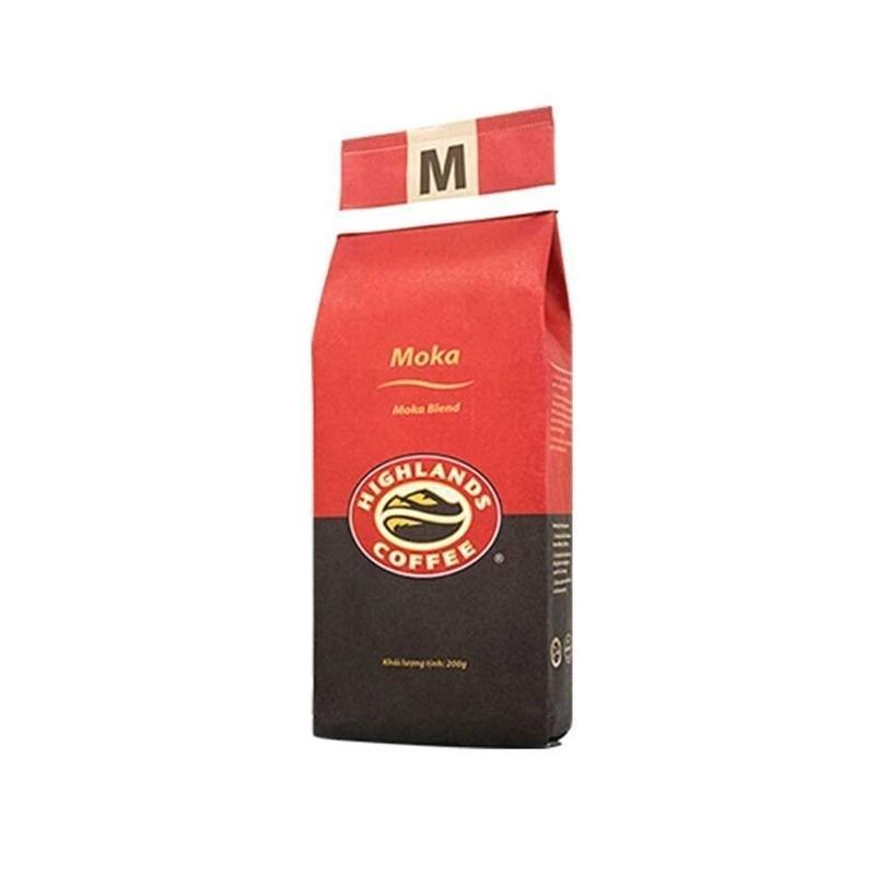 【ベトナムコーヒー】HIGHLANDS COFFEE ハイランズ コーヒー 200g  MOKA モカ