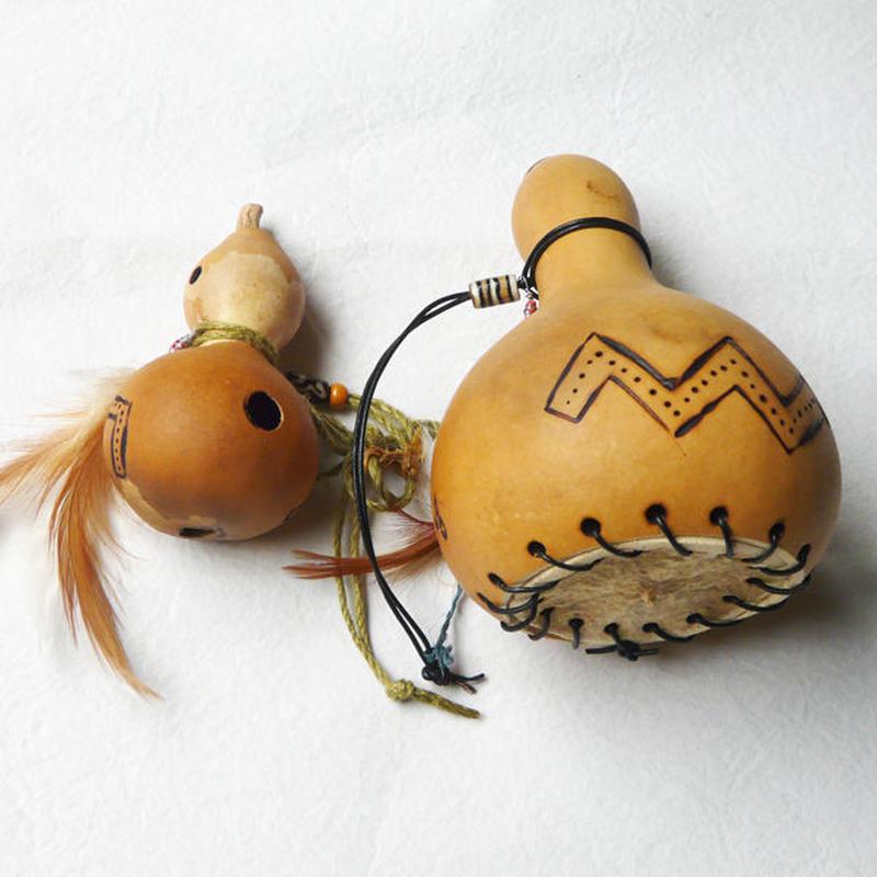 ひょうたん笛+ひょうたんマラカス・セット