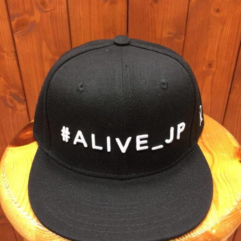 ALIVE(アライブ)・スナップバックタイプキャップ HASHTAG(ハッシュタグ)