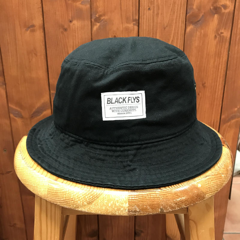 BLACKFLYS(ブラックフライ)DICTUM BUCKET HAT ハット