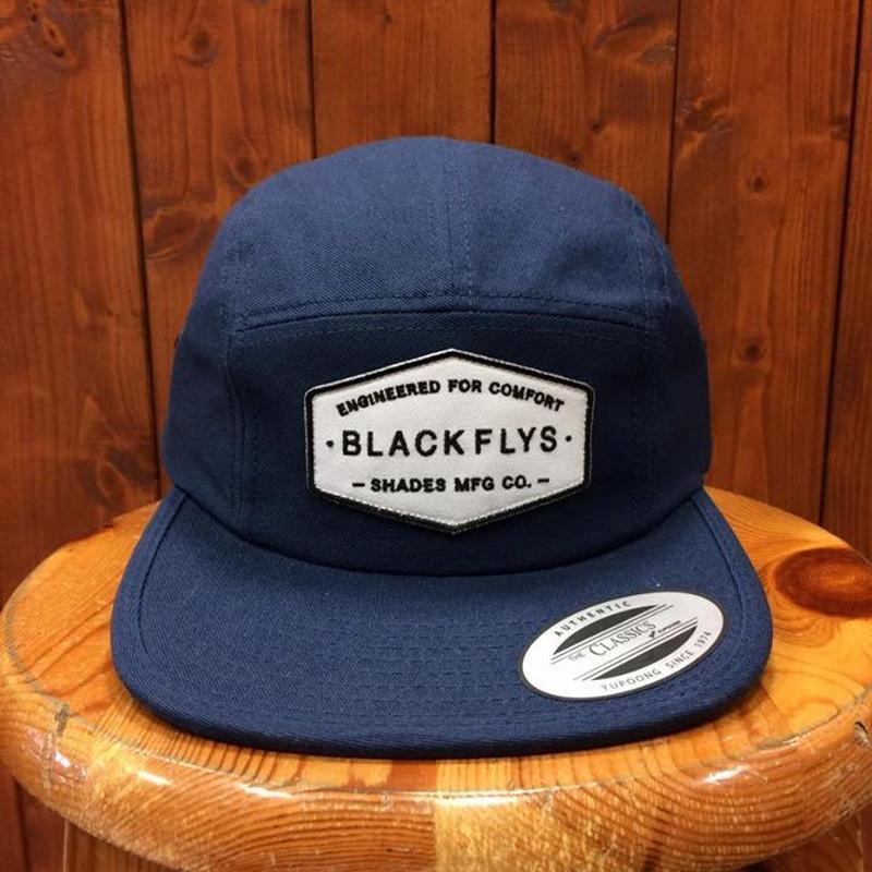 BLACKFLYS(ブラックフライ)HEXA JET CAP NAVY キャップ