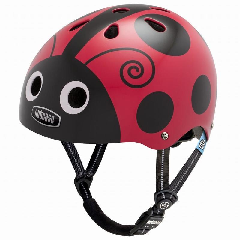 NUTCASE ヘルメットLITTLE NUTTY Ladybug(レディーバグ) サイズXS