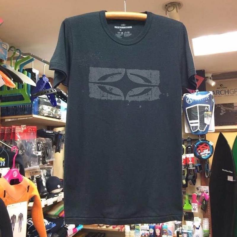 DESTINATION ロゴTシャツ カラー/ブラック/グレー
