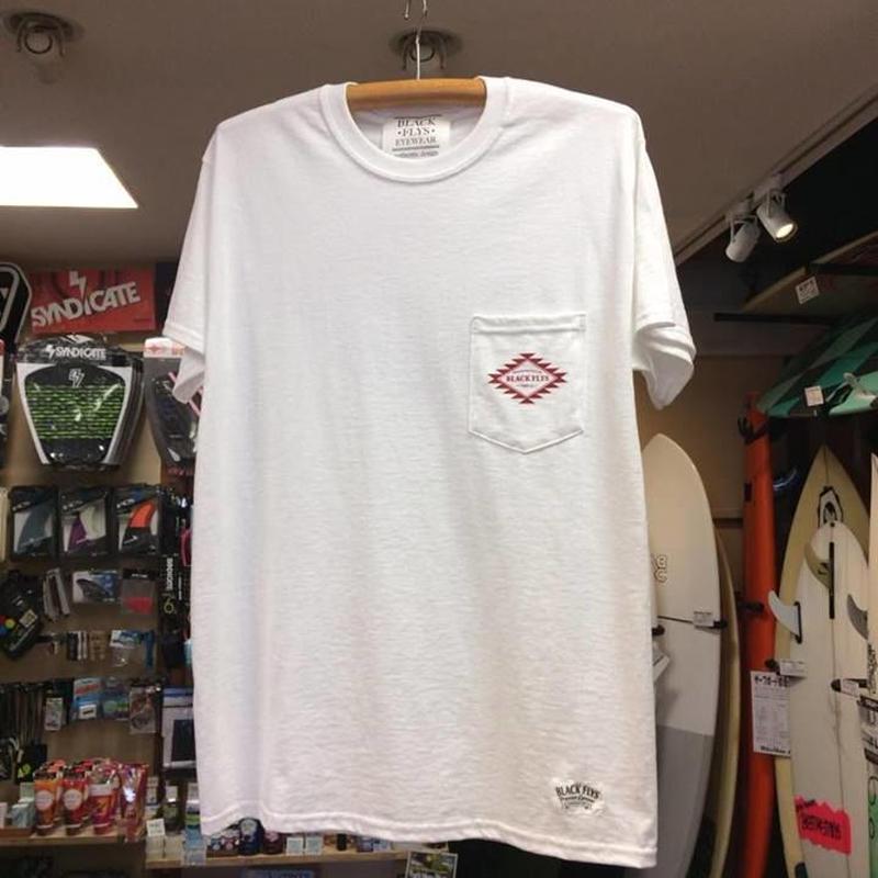 BlackFlys(ブラックフライ)NewnavajoPoket Tシャツホワイト