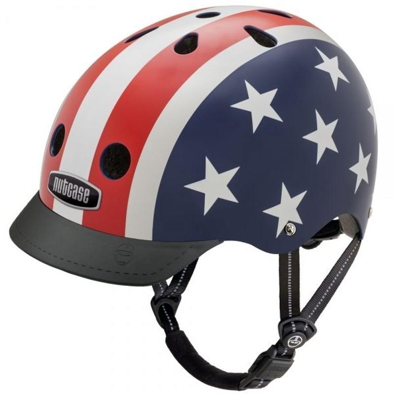 NUTCASE ヘルメットLITTLE NUTTY Stars&stripes(スターズ&ストライプ) サイズXS