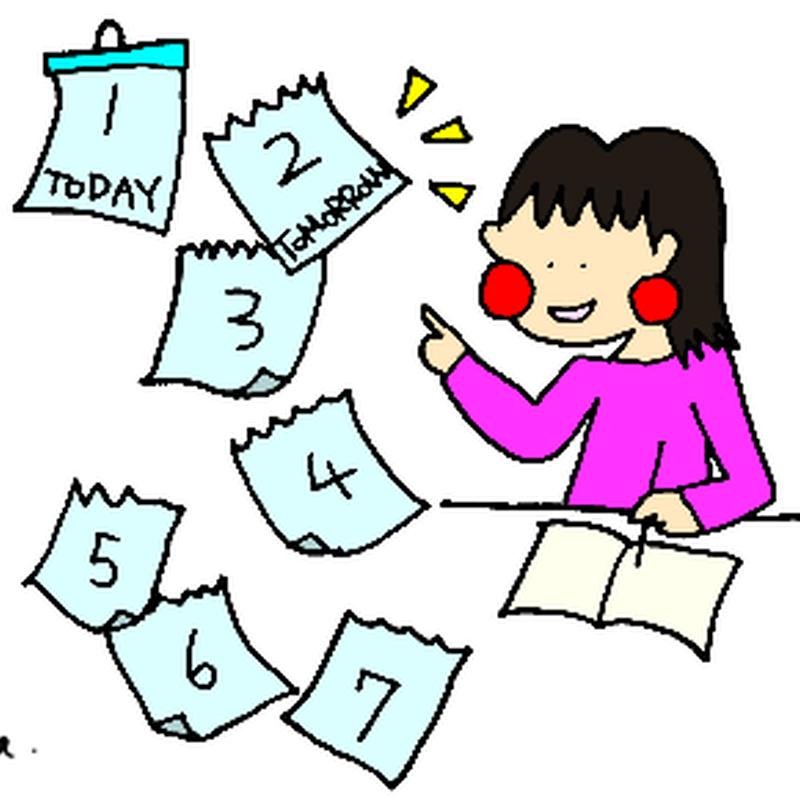 みんなの日本語I L4 A6 「わたしは 明日 勉強します」