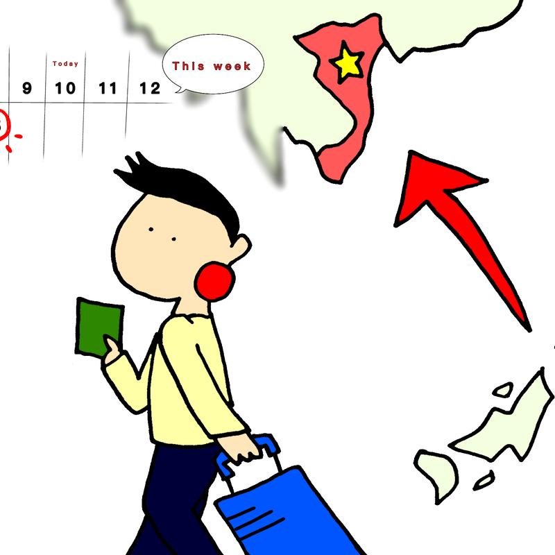 みんなの日本語I L5 A4 「わたしは 来週 国へ帰ります」