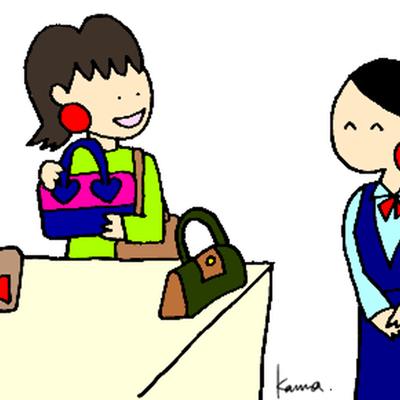 みんなの日本語I L6 A3 「わたしは デパートで かばんを買いました」