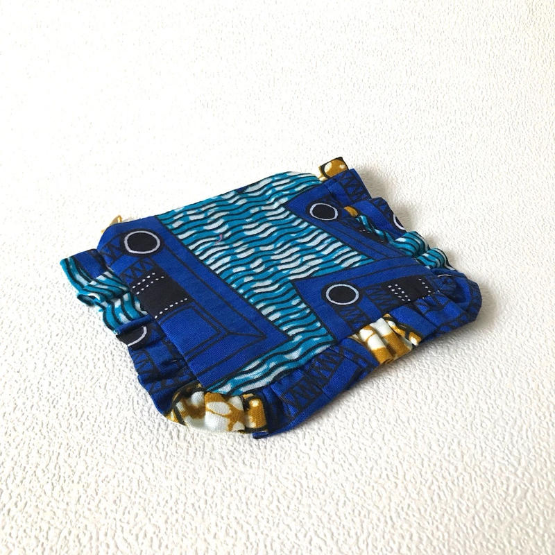 キャンディーポーチ- 青のロボット -