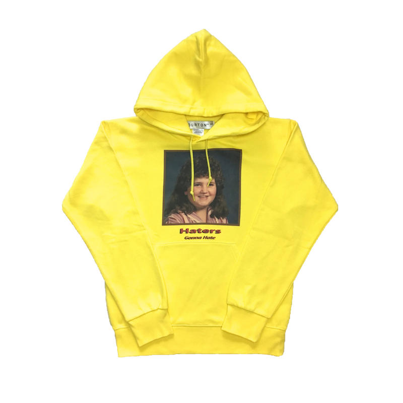 HATER`S GONNA HATE PARKA  TYPE-1 (YELLOW)