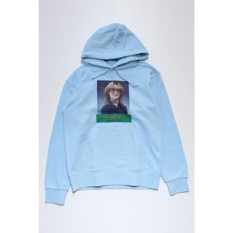 HATER`S GONNA HATE PARKA  TYPE-2 (LIGHT BLUE)