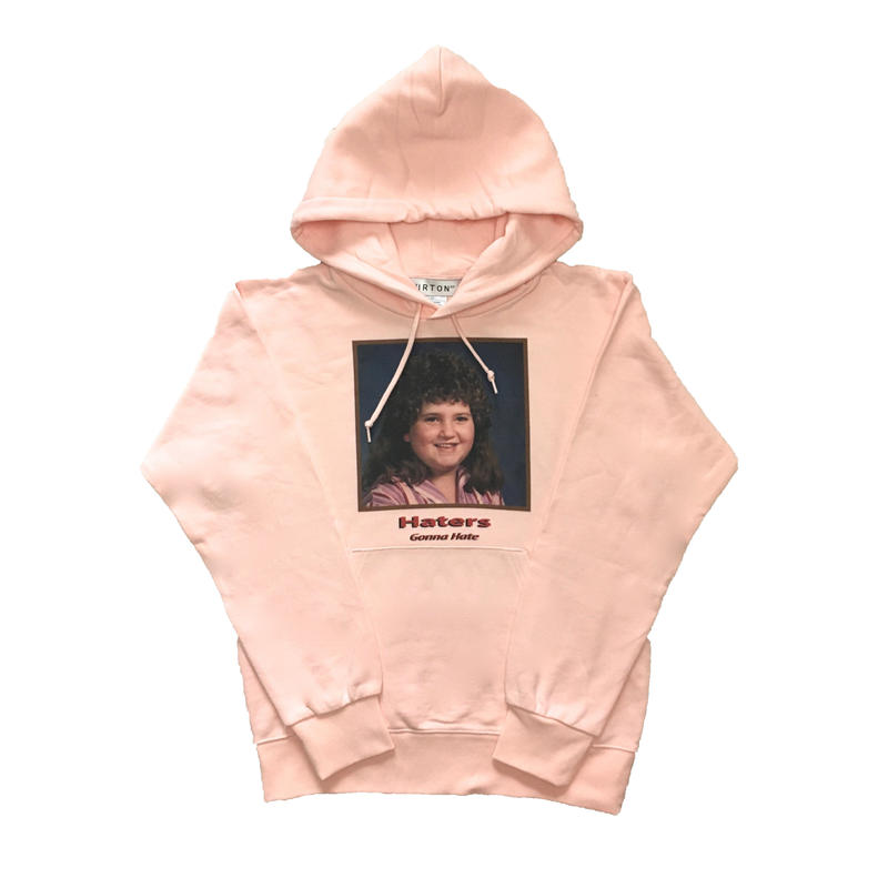 HATER`S GONNA HATE PARKA  TYPE-1 (PINK)