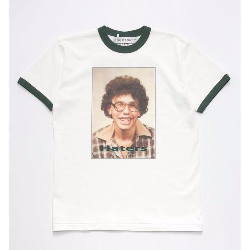 HATER`S GONNA HATE RINGER TEE  TYPE-3