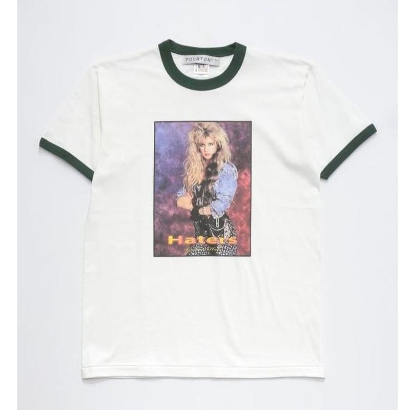 HATER`S GONNA HATE RINGER TEE  TYPE-1