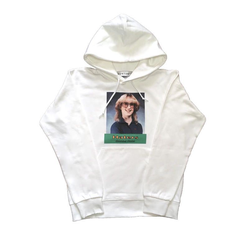 HATER`S GONNA HATE PARKA  TYPE-2 (WHITE)